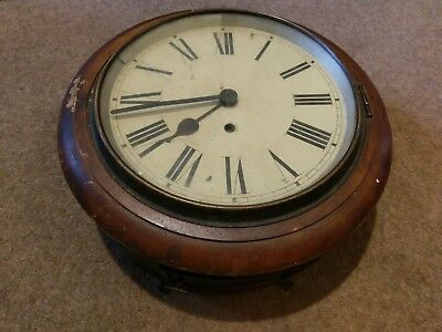 """small 9"""" dial  clock. non fusee untouched"""
