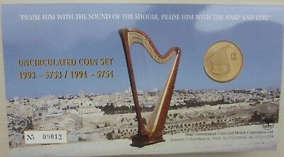 Uncirculated Coin Set 1993