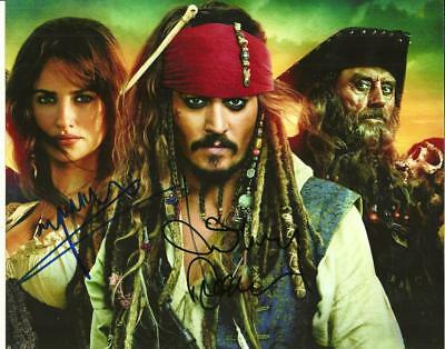 Johnny Depp 8 By 10 Inch Full Gloss Autographed Pic (Coa)