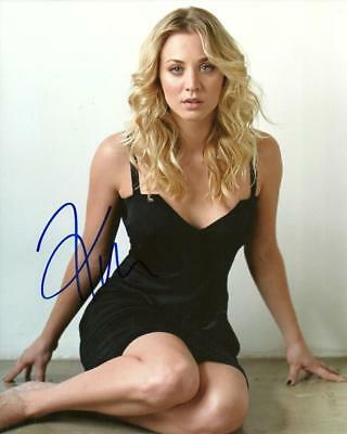 Kaley Cuoco  8 By 10 Inch Full Gloss Autographed Pic (Coa)