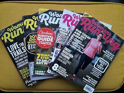 Women's Running magazine bundle of 5