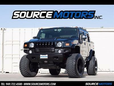 2007 Hummer H2 Luxury 2007 Hummer H2 SUT, Fuel Wheels, Rancho Lift, Leather, Navigation, Blacked Out
