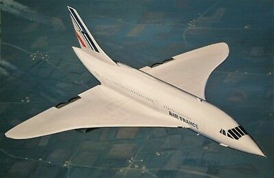 AIR FRANCE   CONCORDE  - peinture originale