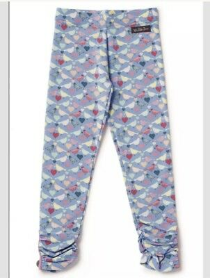 Nwt Matilda Jane Repeat After Me Leggings Size 4 Camp Mjc