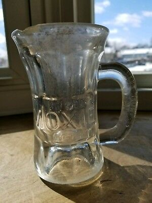 Moxie Antique Soda Drinking Mug Glass