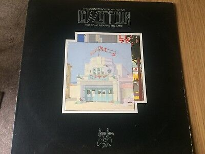Led Zeppelin - The Song Remains The Same. 1976 Double Lp Record.