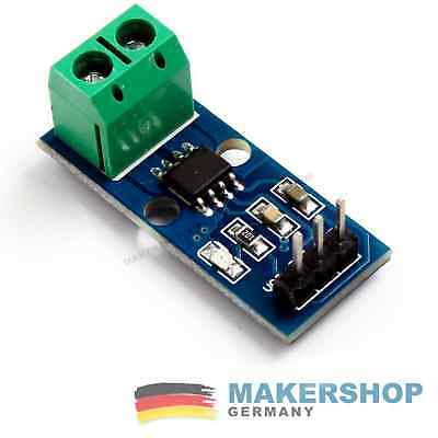 ACS712 20A Stromsensor Analog Current Hall Sensor Arduino Raspberry Pi