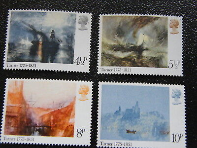 UMM - 1975 -  Turner Paintings - unmounted mint set
