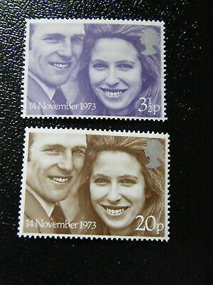 UMM - 1973 - Royal Wedding - mint set