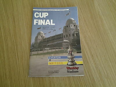 FA Cup Final Everton v Watford 1984