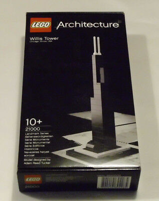 LEGO Architecture 21000  Willis Tower (Sears Tower) Neu & OVP