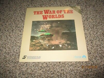 WAR OF THE WORLDS 1953- Laserdisc I COMBINE SHIPPING ,LARGE COLLECTION LISTED