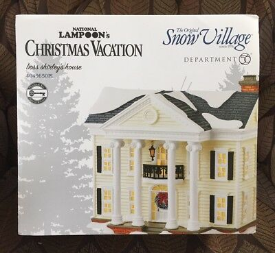 National Lampoon's Christmas Vacation, Boss Shirley's House Dept 56 Snow Village