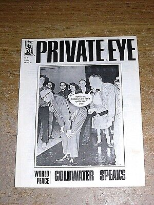 Private Eye Mag # 67 10 July 1964  Barry Goldwater  Republican Arizona Election