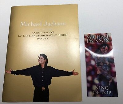 Michael Jackson This Is It Programme & Ticket