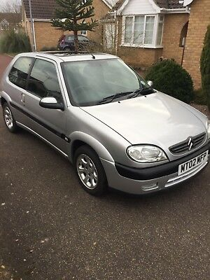 CItreon Saxo VTR drives spot on full year MOT great condition for year