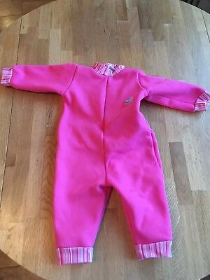 Girls Splash About Warm in One Baby Wetsuit - Large (6-14 months) - SPF 50