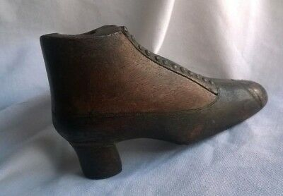 Antique Shoe / Boot Snuff Box Bottle Possibly Georgian