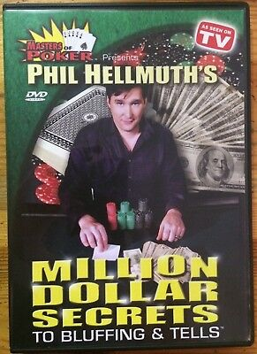 Masters of Poker Phil Hellmuth's Million Dollar Secrets To Bluffing & Tells DVD