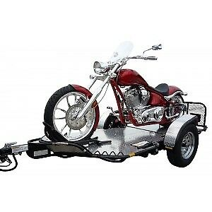 Drop-Tail motorcycle trailer