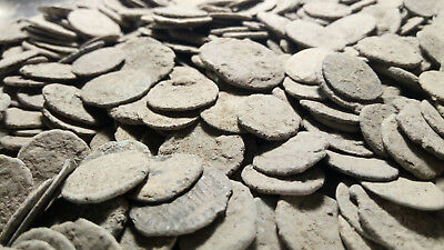 Ancient Roman coins 100 uncleaned 100 % authentic coins