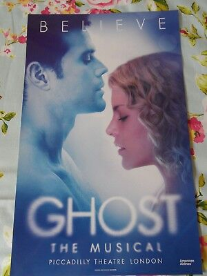 Ghost The Musical Theatre Poster