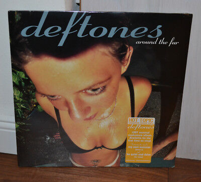 Deftones - Around the Fur (ORANGE VINYL) HOT TOPIC Exclusive 2011 OOP/SEALED!