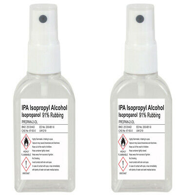 LUCEMILL ISOPROPYL RUBBING Alcohol Ipa Isopropanol (Mist Spray) 70%, 91%,  99 9%