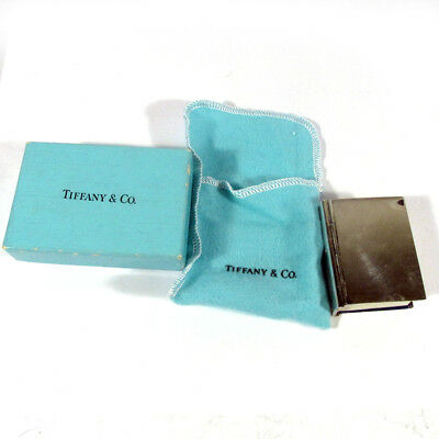 Miniature Tiffany Sterling Silver Webster Dictionary w/Original Bag and Box