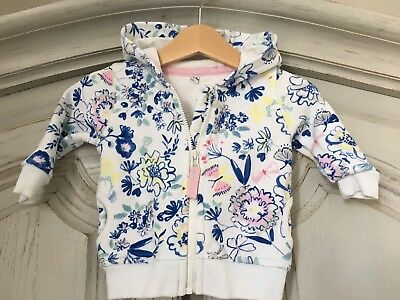 MARKS AND SPENCER M&S BABY GIRL HOODIE 6-9 Months