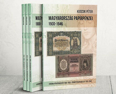 Paper Money of Hungary 1900-1946, new book ( 2017) FREE SHIPPING!