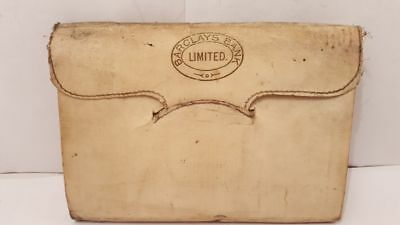 Antique Barclays Bank Acount Ledger  Old document British Collectible