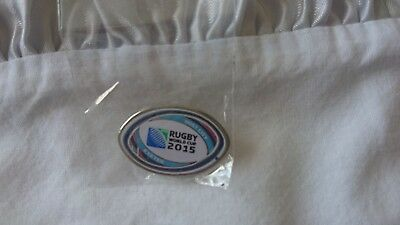 Lapel Badge Exeter Host City Rugby 2015