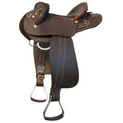 James Saddlery distributed Childrens Kids Youths Halfbreed Stock Saddle