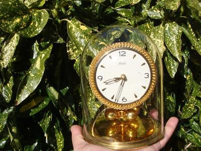 Kundo   Anniversary  Mantle Clock  Needs Suspension Spring For Spare Or Repair