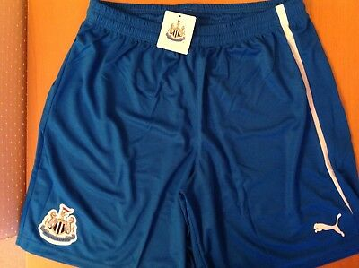 Newcastle United  Shorts Blue Size L New With Tags