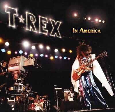 Marc Bolan / T.rex 'in America' Limited Edition Yellow Vinyl Lp + Promo Postcard