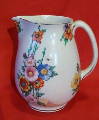 Losol Ware HAMPTON Pattern Jug by Keeling & Co Ltd, Burslem STAFFORDSHIRE