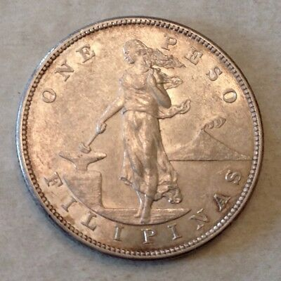 - 1903 S US  Philippines SIlver Peso – San Francisco Mint