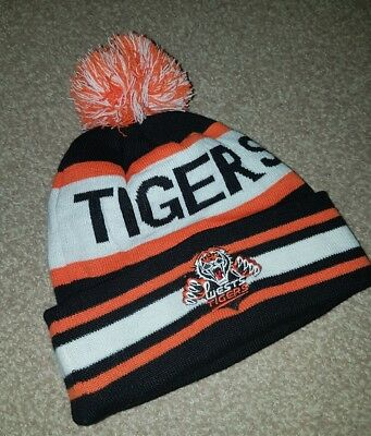 NRL Wests Tigers bobble hat rugby league