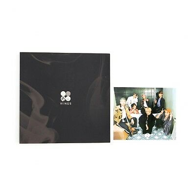 [BTS]2nd Album WINGS/ 'I' version/ Album+ Photocard/You can choose photocard