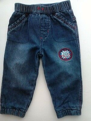 Baby Blue Jeans Disney Dumbo Lined 9-12 months
