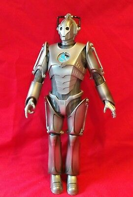"Doctor Who Cyberman Figurine 12.5"" 2006 BBC Worldwide Ltd 1963 Toy Collectable"