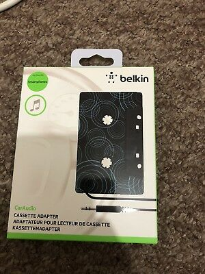 BELKIN F8V366bt In-Car Cassette  Adapter for iPod 1.2 m, Black New golf audi R S