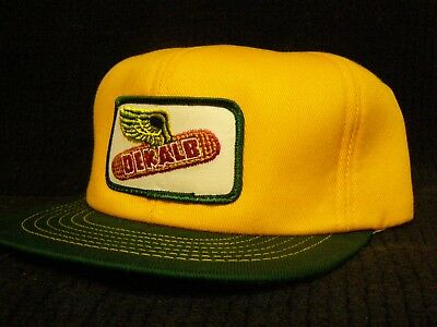 Vintage NOS - DeKalb Seed Winter Style Snap Back Ball Cap - One Size