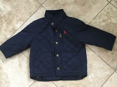 Polo By Ralph Lauren Baby Boys Jacket Size 18 Months.