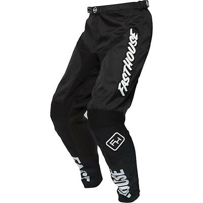 Fasthouse NEW Mx 2018 Grindhouse Black Kids Youth Motocross Dirt Bike Pants