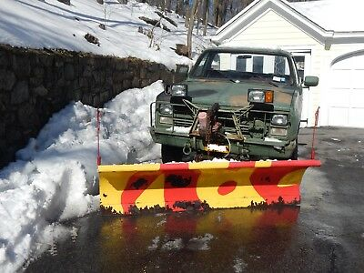 1985 Chevrolet Other Pickups  Chevrolet CUCV M1008 military truck with Plow