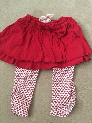 Little Wings Organic Cotton Girl's Legging Size 4