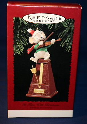 Hallmark Ornament 1995 In Time With Christmas--Windup Movement